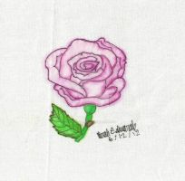 Watercolor Rose by roselilly312