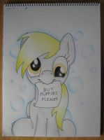 Derpy wants Muffins by haselwoelfchen