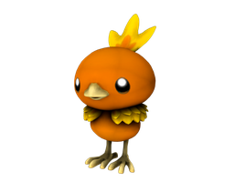 255 Torchic by bogeymankurt