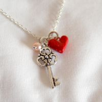 Key to my heart necklace by yael360