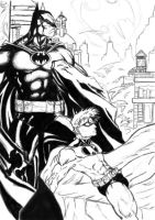 Batman and Robin by Anothen