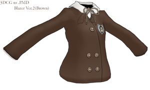 MMD- Blazer Ver.2-Brown- -DL by MMDFakewings18