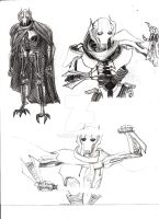 General Grievous (Sketches Compilation) by AnakinJones