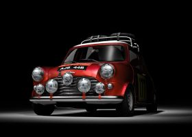 1965 Morris Mini Cooper side by kokillo