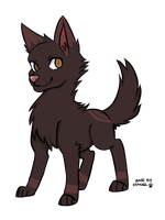 Wolf adopt #3 CLOSED by Harmonic-Adopts