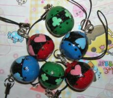 Shugo Chara mini eggs by kneazlegurl125