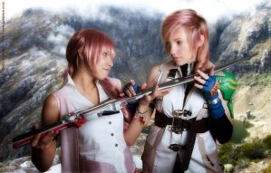 Fighting is my burden Serah... by Anathiell