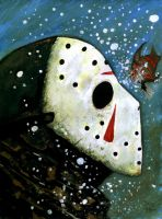 Freddy Vs Jason(freddy fish) by DougSQ