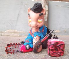 My Little Pony Evil Dead Ash by Tat2ood-Monster