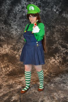 Back off Mario! It's Luigi Time! by BeCos-We-Can-Cosplay