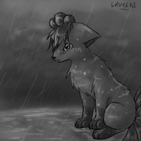 Sad vulpix by laurene1993