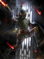 See Boba Fett Run. by JoshBurns