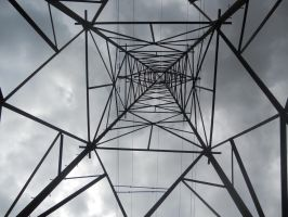 Electricity Pylon by MissDaintyK