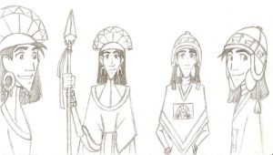 Kuzco sketches by KN-KL