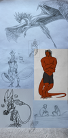 Sketch dump 2014 vol 2 by TriinuArjus