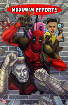 Deadpool - 4th Wall by TyrineCarver
