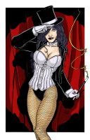 Zatanna Color by BanebrookStudios