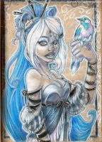 Inada Amai: the Frozen Queen by oGuttermoutho