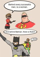batman and robin by James-roket