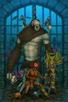 Witch Doctor and Friends by Luneder