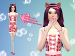 CatGirl Lena - Cute Sims by ng9