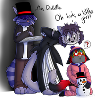 DIDDLE IS INDEED THE PEDO CAT~ - AT - by ScottishPeppers