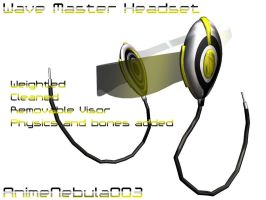 Wave Master Headset DL! by AnimeNebula003