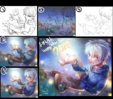 Process- Happy new year 2015 by christon-clivef
