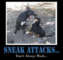 Sneak attacks by Chop-stick