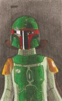 Boba Fett, Bounty Hunter by MistyKoopa