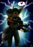 The Commando and the Cowboy by Wedgie-Fox