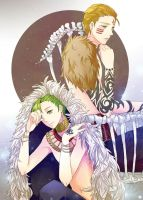 LOX: bird and lion by twitchhhhh