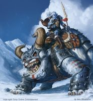 Snowcharger Cavalry by AlexAlexandrov