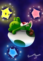 Yoshi sweet dreams by giovanna-71