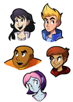 Bravest Warriors by Ric-M