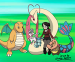 Just a standard trainer with Pokemon team picture by JocelynSamara