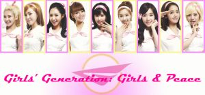 Girls and Peace wallpaper by Xinahs