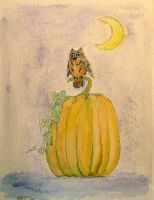Peaceful Pumpkin Patch by NycterisA