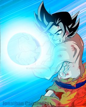 Son Goku by LordJohn