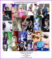 the many faces... by Countess-Grotesque