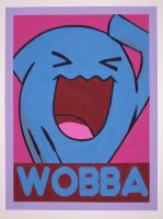 Wobba Wobbuffet by IceRoadLion