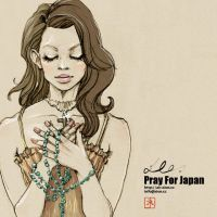 Pray For Japan by xion-cc