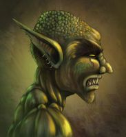 Forest Goblin by halohunter