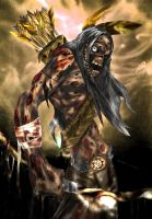 Native Dead _ colored by DONPIZZLE