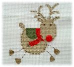 Reindeer Cross-Stitch by xMelodyHeartsx