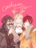 Collab: cARDIGAN TRIO by AmaiCandy