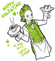 Happy Valentine by Captain--Ruffy