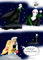 Voldemort the copycat by ks-claw