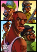 Grand Theft Auto: San Andreas by ubegovic