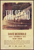 The Stand-Church Flyer Template by loswl